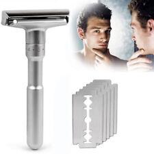 Men's Adjustable Safety Razor Mental Classic Safety 1 Handle & 1 Blades