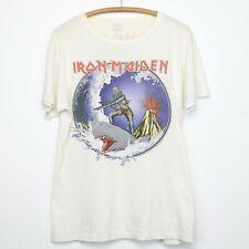 Vintage 1985 Iron Maiden Hawaii Tour Vintage T-Shirt (2 Side)