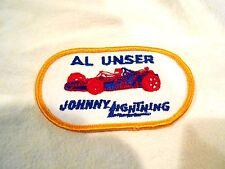 Vintage 1970's Topper Johnny Lightning Al Unser Patch
