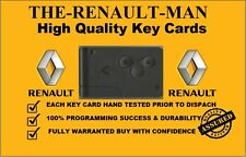 Renault Megane Scenic Clio 3 Button Remote Key Card Highest Quaility 2002-2008