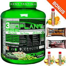 2x2kg proteínas lata polvo laktosefrei Vegan soja arroz guisantes proteína Vegan bonus