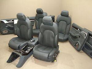 AUDI A8 Inneausstattung Lederausstattung Komfortsitze Sitze Seats Leder Leather