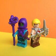 2X Masters of the Universe Skeletor He-Man Mini Figure Toy B1