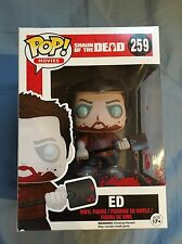 FUNKO POP SHAUN OF THE DEAD BLOOD SPLATTERED ZOMBIE ED #259 FUGITIVE EXCLUSIVE
