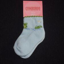 NWT Gymboree Girls Dandelion Wishes Socks Size 12-24 Months Blue Green Hair Bows