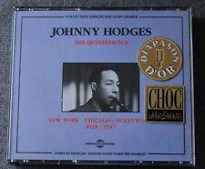 Johnny Hodges, new York - Chicago - Hollywood 1928-1943, 2CD
