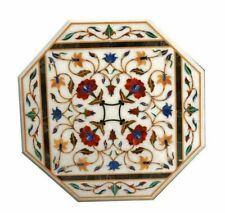 "18""x18""  Beautiful Design  Home Decor Marble Inlay Table Top"