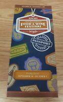 2011 Disney's Epcot International Food & Wine Festival Weekly Guide **READ**
