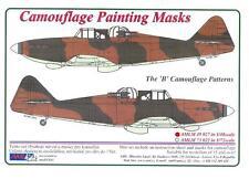 "AML Models 1/48 CAMOUFLAGE PAINT MASKS Boulton Paul Defiant Mk.I ""B"" Patterns"