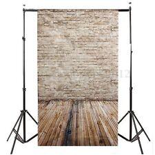 Toile de Fond Backdrop Tissu 90*150cm Pour Photographie Studio Photo Beige Mur