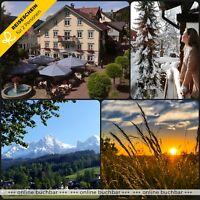Candle-light Dinner Hotel Zum Adler 4★ Bodensee Hotel Romantik Gutschein Essen