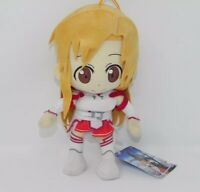 NWOT S.A.O. Great Eastern Sword Art Online Yuuki Asuna Plush Stuffed Doll Anime