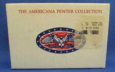 The Americana Pewter Collection Ah45 Steam Locomotive 5 Piece Figurine Set