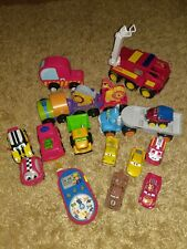 Bundle of Children's Toys - Disney cars, fireman Sam, Tonka, animal train, vehic