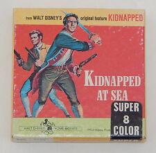 Vintage Super 8mm Film - Kidnapped at Sea from Walt Disney - Color