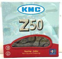 "KMC Z50 5/6/7-Speed Bike Chain 116L 1/2"" x 3/32"" Bicycle Road MTB Cruiser 18/21"