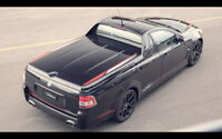 208802 2017 HOLDEN COMMODORE MAGNUM UTE REAR GLOSSY POSTER  FR