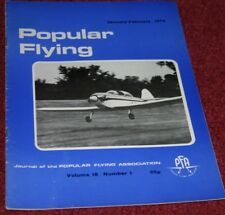 Popular Flying 1974 Jan-Feb Comper Swift - Luton Minor