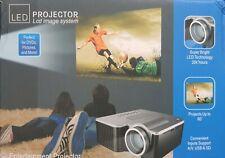 HD 1080P Mini LED Portable Projektor Heimkino Beamer Home Multimedia SD
