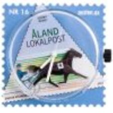 Aland  Stamp watch Horseracing new in box   special price !!                   G