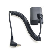 Full Decoded Dummy Battery Spring Power Adapter for Canon LP-E6 EOS 6D 7D