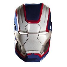 Iron Man 3 Patriot Vacuform Plastic Costume Mask | Disguise 55702