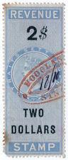 (I.B) Malaya (Straits Settlements) Revenue : Duty Stamp $2