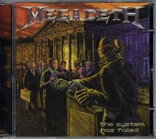 MEGADETH the system has failed CD 2004 Sanctuary