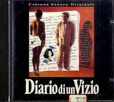 O.S.T.DIARIO DI UN VIZIO CD oop rare