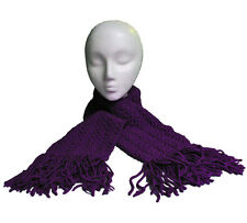 Hand Crochet Purple Scarf -- Proceeds to Benefit East Portland Relay For Life