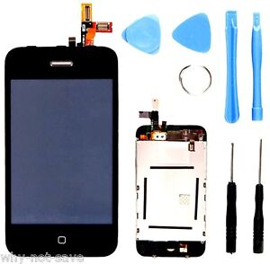 Full LCD Digitizer Glass Screen Display Replacement part for iphone 3GS A1303