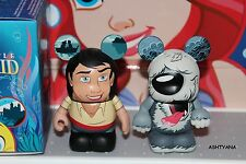 """DISNEY VINYLMATION 3"""" ★ THE LITTLE MERMAID ★ PRINCE ERIC & MAX ★ IN HAND"""