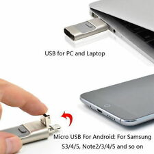 GOLD 128GB i Flash Drive USB Memory Stick HD U Disk 3 in 1 for Android/ iPhone