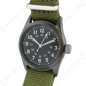 """""""The Grunt"""" US Vietnam War Pattern Military Service Watch in Presentation Box"""