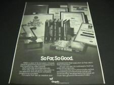 Blondie others Original 1982 Chrysalis Visual Programming 1983 Promo Poster Ad