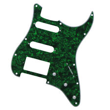 * NEW Green Pearloid HSS Stratocaster PICKGUARD for Fender Strat 3 Ply Standard