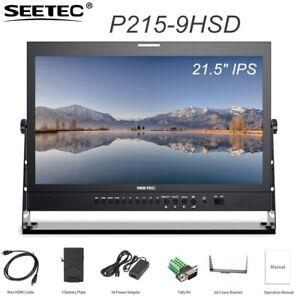 "SEETEC P215-9HSD 21.5"" IPS 3G-SDI HDMI Broadcast Monitor HD Desktop LCD Monitor"