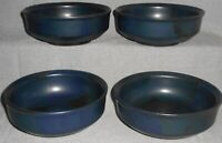 Set (4) Iron Mountain Stoneware BLUE RIDGE PATTERN Soup/Cereal Bowls TENNESSEE
