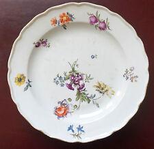Assiette Antique en Porcelaine de Meissen - Début du 18e Siècle (1712-1720)