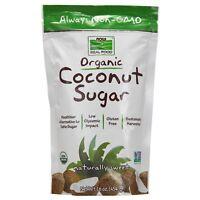 NOW Foods Coconut Sugar, Organic, 16 oz.