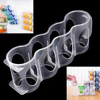 Saver Can Storage Organizer Rack Holder Beer Kitchen Fridge Plastic Hot Home