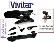 New Mini Condenser Pro Microphone For Canon Vixia HF R800 R82 R80 GX10