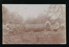 Gloucestershire TEWKESBURY area Woodcutters photo RP PPC local pub Mallett