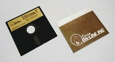 Rare Vintage Atari 400 / 800 Computer Ultima I Disk by Sierra On-Line 1983