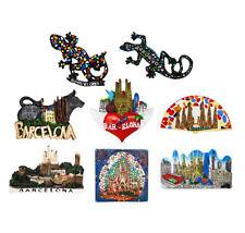 3D Resin Fridge Magnet Tourist Travel Souvenir Memorabilia - Barcelona, Spain