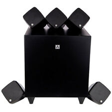Hide & Seek 5.1 Surround Sound Speaker Pack Compact Home Theatre Black RRP $999