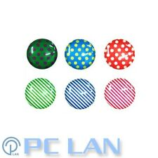6 PCS Dot & Stripe Home Button Sticker for iPhone New iPad 1 2 3 4 + Bonus Set