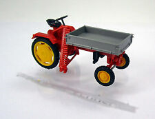 Busch Mehlhose 210005000 IFA Traktor RS09 mit Pritsche und Mähbalken -  Rot