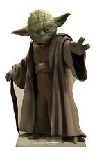 Yoda Star Wars Lifesize CARDBOARD CUTOUT standee standup Jedi Master Knight Cool