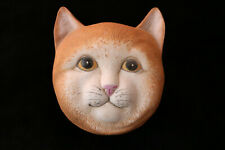 Cat Face Music Trinket Box Orange Tabby Play Memories Cats Mount Clemens Pottery